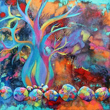 Bottle Tree by JakkiOakes