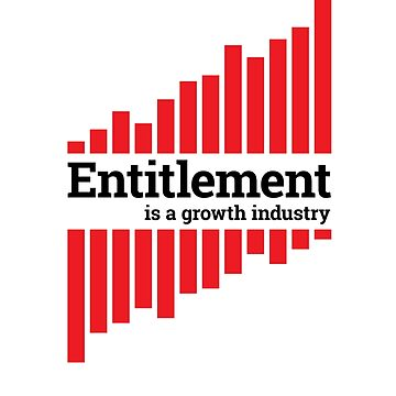 Entitlement - red and black by murraygm