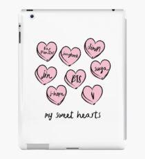BTS hearts iPad Case/Skin