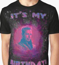 Grandmaster - It's My Birthday! Graphic T-Shirt