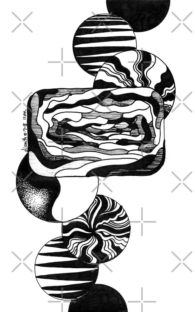 Terra, Ink Drawing by Danielle Scott