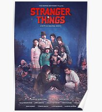 The Goonies Stranger things Poster