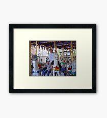 Merry-go Round Framed Print