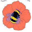 SAVE THE BEES DESIGN 2 by aezee