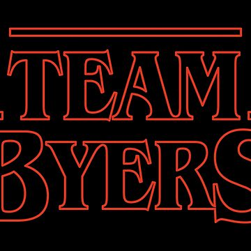Stranger Things, Team Byers - go Jonathan! by cooler-than-you