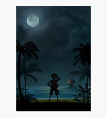 Warriors Landscapes - One Piece - Monkey D. Luffy Photographic Print