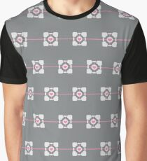 Minimalist weighted companion cube Graphic T-Shirt