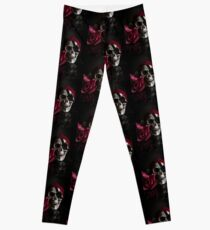 Rose & Skull Leggings