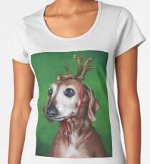 Kirby as: Max (The Grinch's Dog) Women's Premium T-Shirt