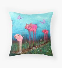 Take The Long Way Home Throw Pillow