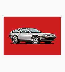 DMC Delorean Photographic Print