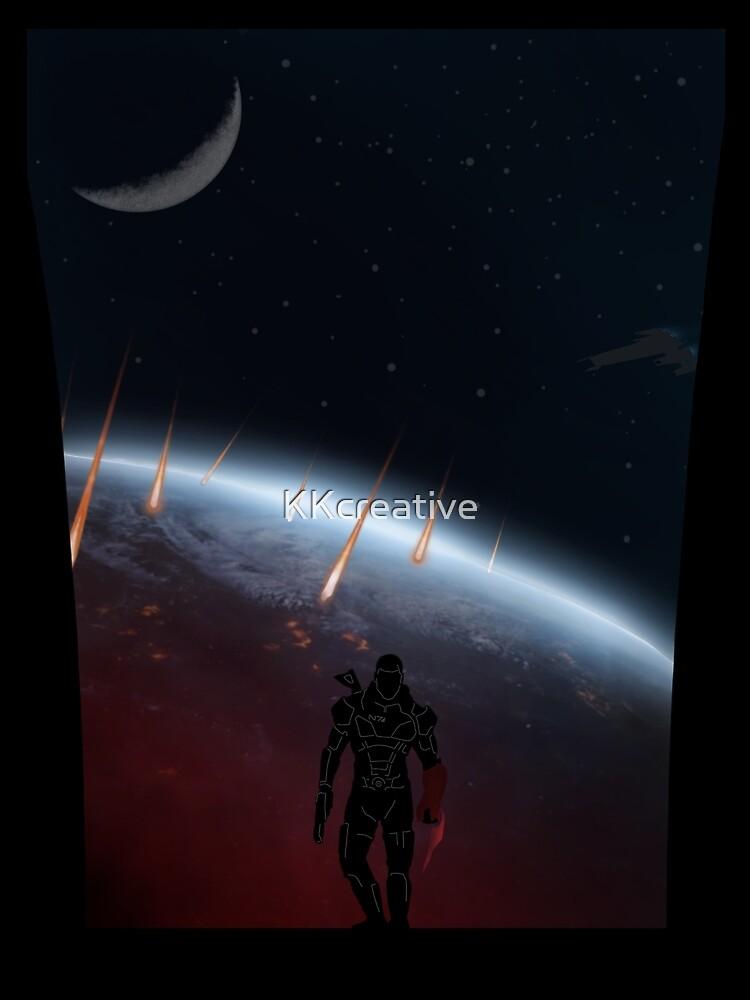 Krieger Landschaften - Mass Effect von KKcreative