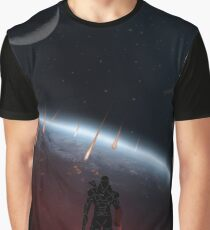 Warriors Landscapes - Mass Effect Graphic T-Shirt