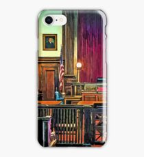Courtroom iPhone Case/Skin