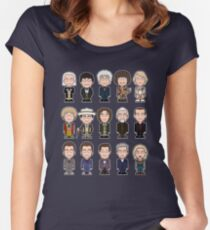 The Fifteen Doctors Women's Fitted Scoop T-Shirt
