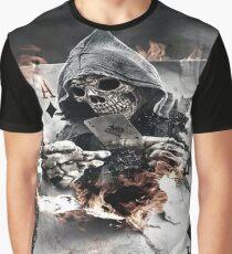 Death Poker T-shirt graphique