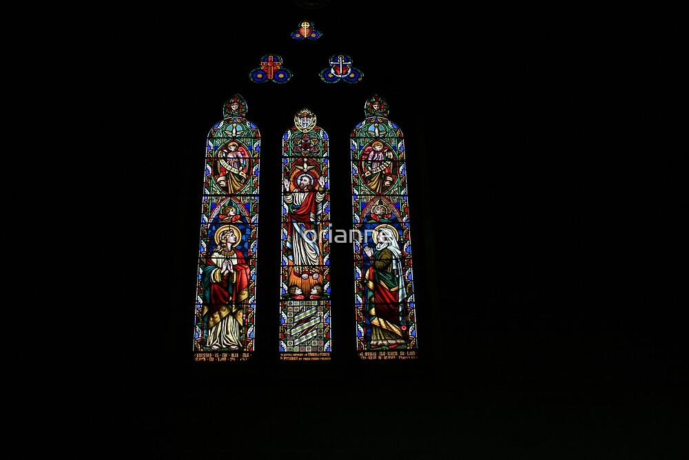 Ross Church Windows by orianne