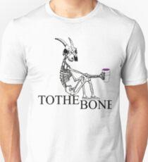 Sitting Skeleton Unisex T-Shirt
