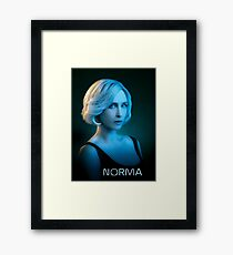 Bates Motel - Norma Bates Framed Print