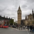 Big Ben on a Grey Day by DonDavisUK