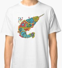 Narwhal, cool art from the AlphaPod Collection Classic T-Shirt