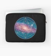 Andromeda Geometry Galaxy, Outer Space, Geometric Mandala, Science Laptop Sleeve