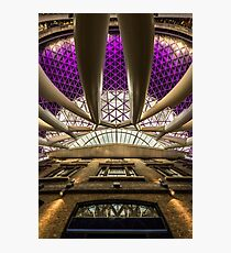 Kings Cross Look-up Photographic Print