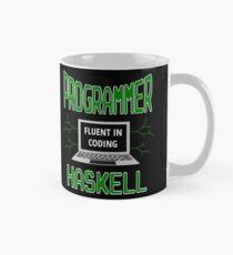 Retro Programmer Design Fluent in Coding Haskell Mug