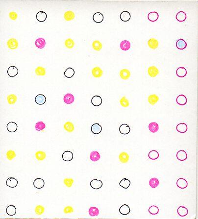 polka dot card by casey temby