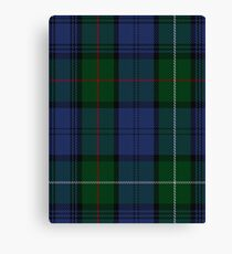 00494 MacKenzie (Vestiarium Scoticum) Clan/Family Tartan  Canvas Print