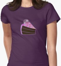 Zoe's Chocolate Mooncake!//without text Women's Fitted T-Shirt