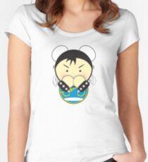 Chun Li Fitted Scoop T-Shirt