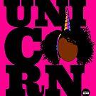 «Unicornio negro» de BHueman
