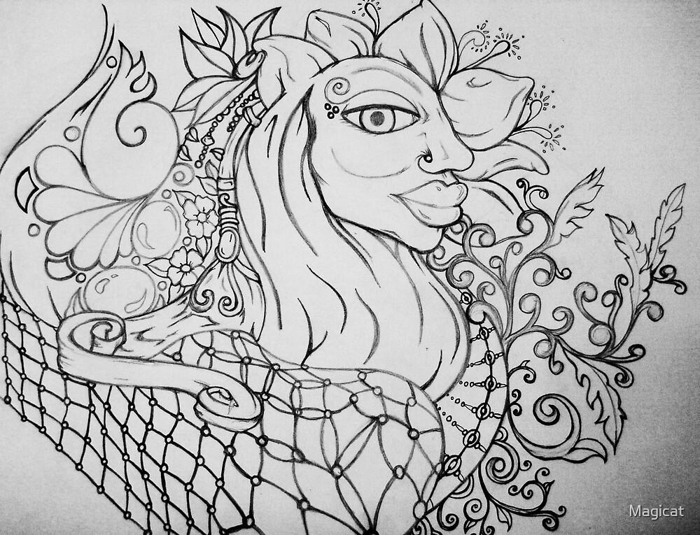 Doodle Doo.... by Magicat