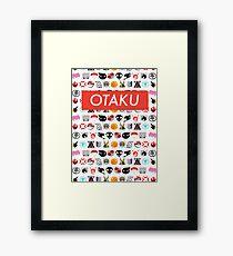 Otaku Box Logo Anime - Colour Framed Print