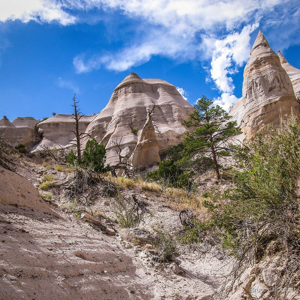 tent rocks 7 by Bruce  Dickson
