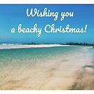 Christmas on the beach by Annie Smit