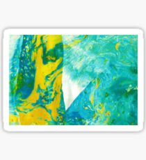 Abstract art stains Sticker