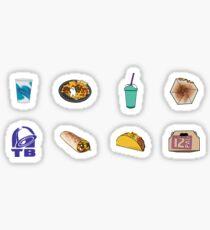 Pegatina Paquete de variedad Taco Bell