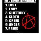 My 7 Favorite Hobbies - Anarchy by Kowulz