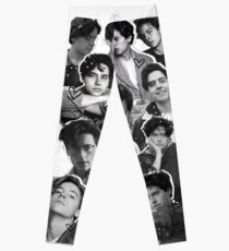 Legging Cole Sprouse Collage