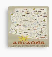 Vintage Arizona Canvas Print