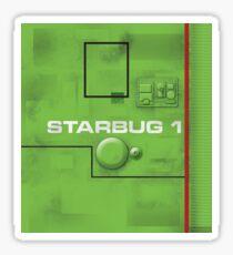 Starbug hull - Red Dwarf Sticker