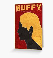 Buffy Greeting Card