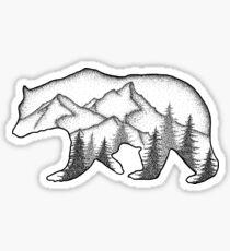 Wild tragen Sticker