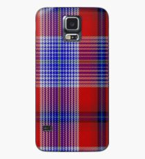 00501 A J Gallacher Tartan  Case/Skin for Samsung Galaxy