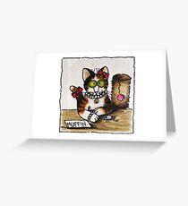 Princess Muffin Greeting Card