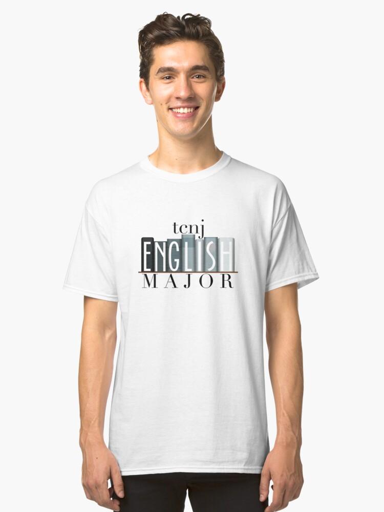 Alternate view of TCNJ English Major 1 Classic T-Shirt