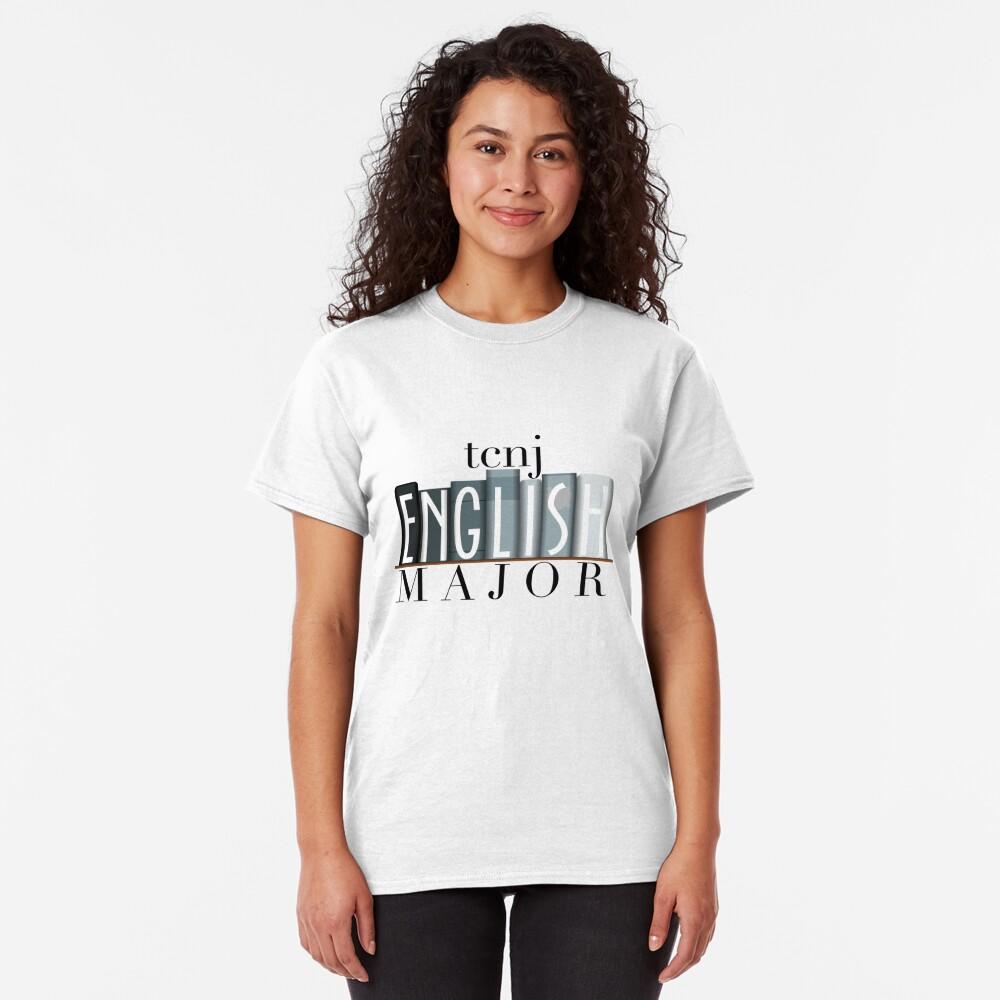 TCNJ English Major 1 Classic T-Shirt