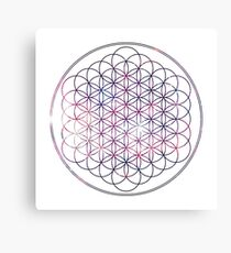Flower of Life - Space, No background Canvas Print